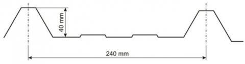 Tr 40/240 bez filca